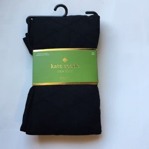 Kate Spade black tights M/L